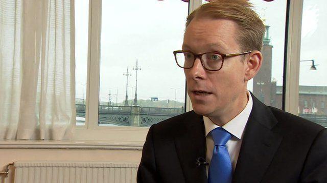 Swedish migration minister Tobias Billstrom: