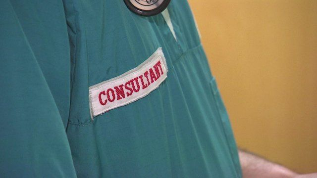 A hospital consultant