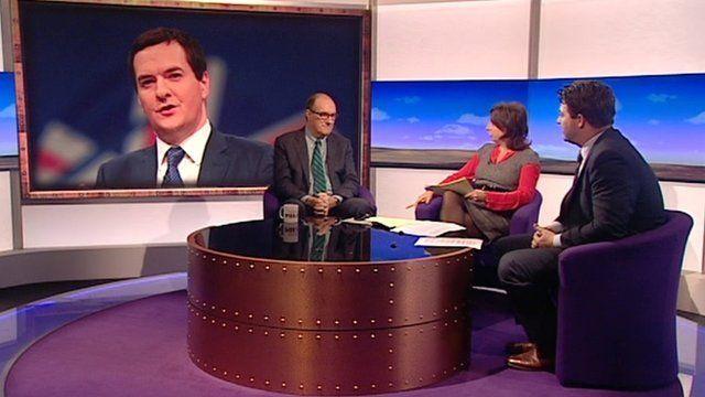 Will Hutton, Jo Coburn and Liam Halligan