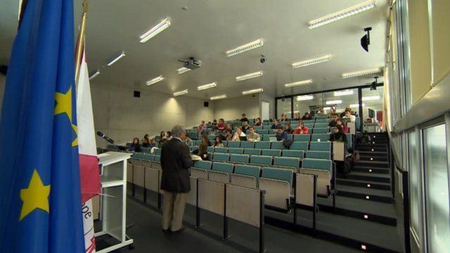 College of Europe class