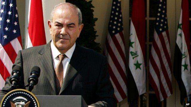 Iraq's former Prime Minister Iyad Allawi