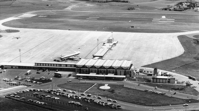 The airport has been in civilian use for more than 50 years
