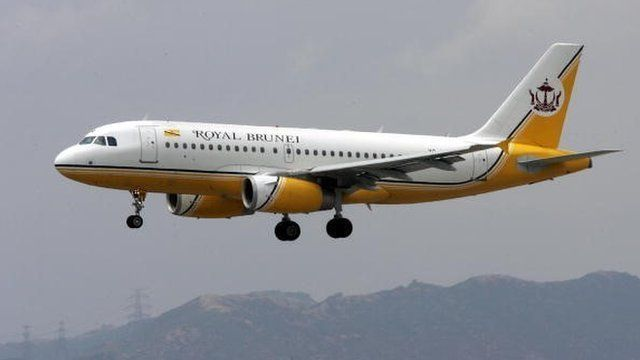 Royal Brunei plane
