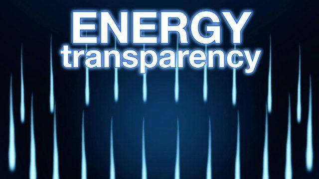 Energy profits graphic