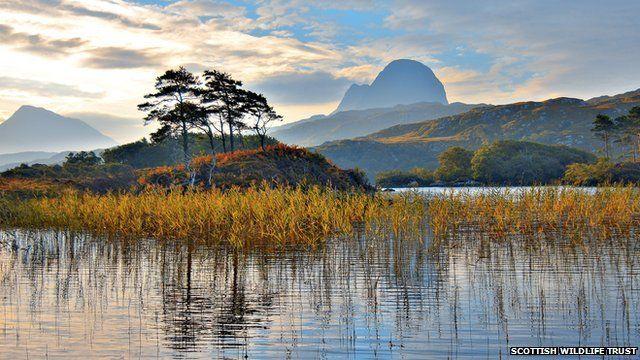 Suilven and Loch Druim