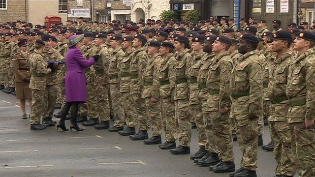 Soldiers in Malmesbury
