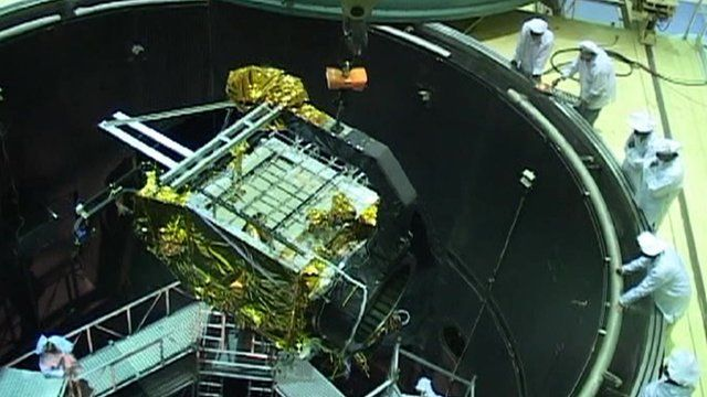 Space capsule in India space station