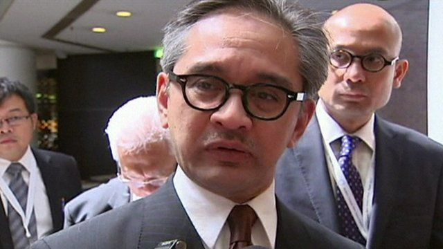 Indonesian Foreign Minister Marty Natalegawa