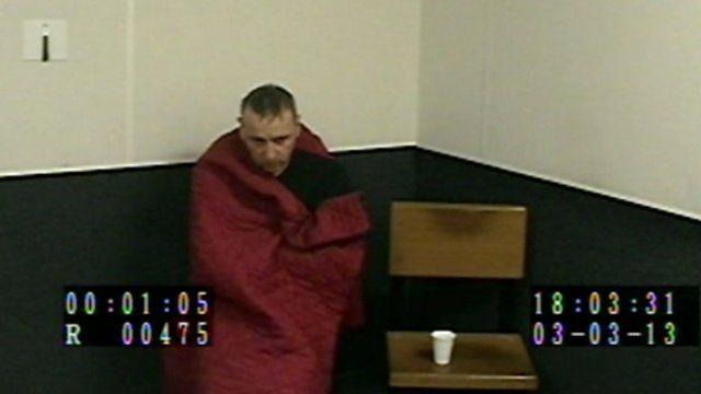 Wayne Scott in custody