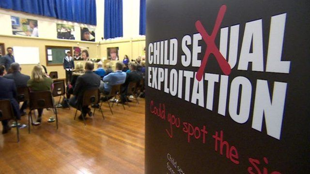 Child sexual exploitation poster