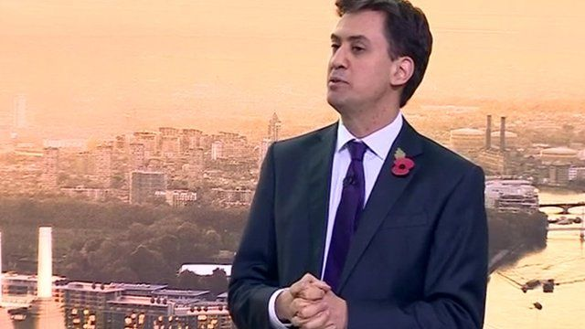 Labour's Ed Miliband