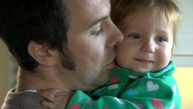 David Kinston with daughter Elise
