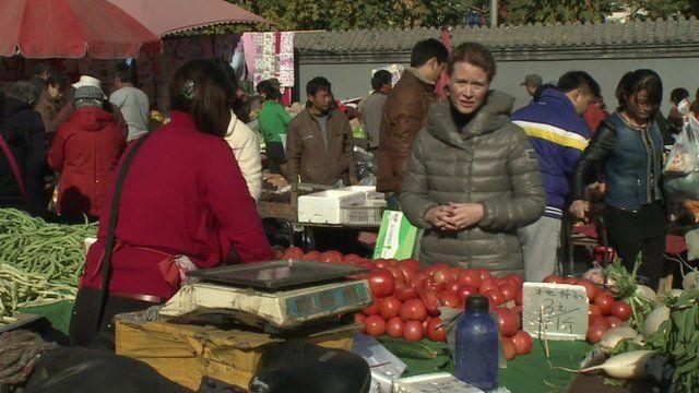 Celia Hatton in Chinese market