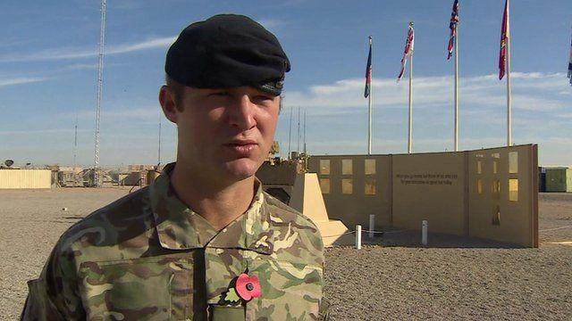 Sgt Anthony Dyer, 9th/12th Royal Lancer