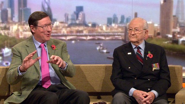 Sir Max Hastings and Bernard Mason