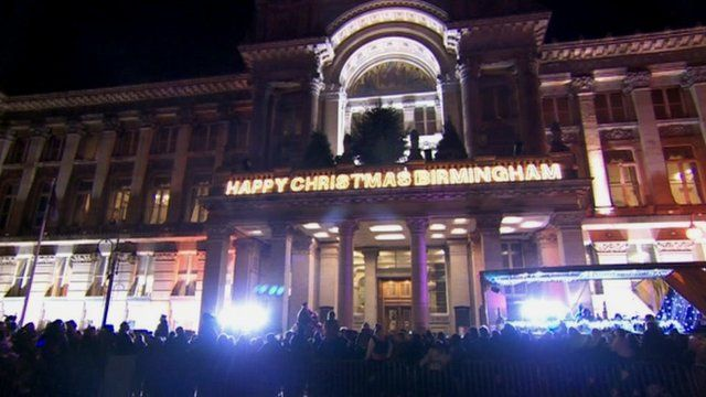 Birmingham Christmas lights
