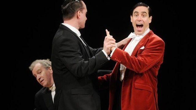 Matthew Macfadyen, Stephen Mangan as Jeeves and Wooster
