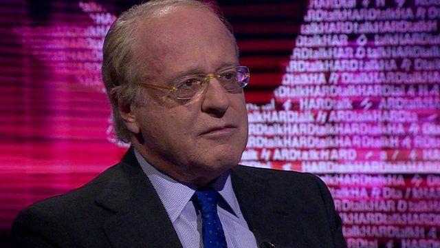 Eni's Chief Executive Officer, Paolo Scaroni
