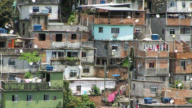 Favela in Rio