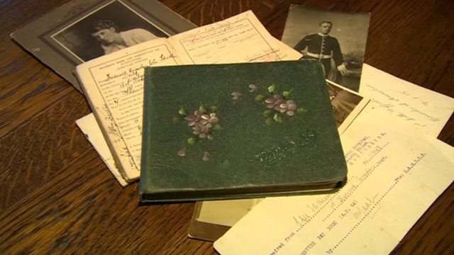 The book of soldiers' stories from WW1