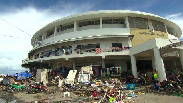 Tacloban sports centre