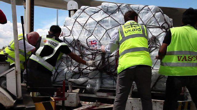 UK relief aid