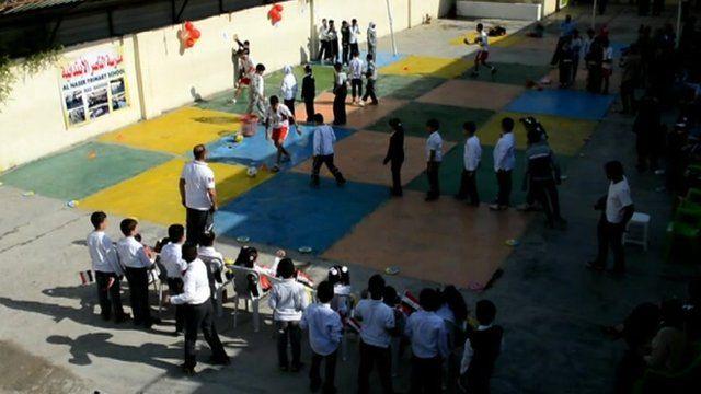School children in Iraq