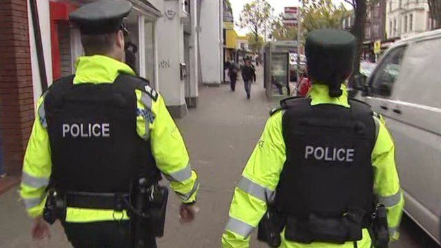 The PSNI replaced the RUC in 2001