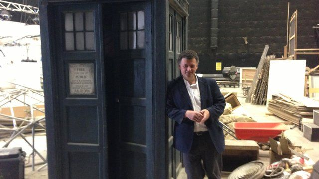 Stephen Moffat, executive producer and lead writer for Dr Who