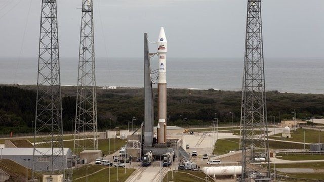 'Maven' spacecraft on launch pad