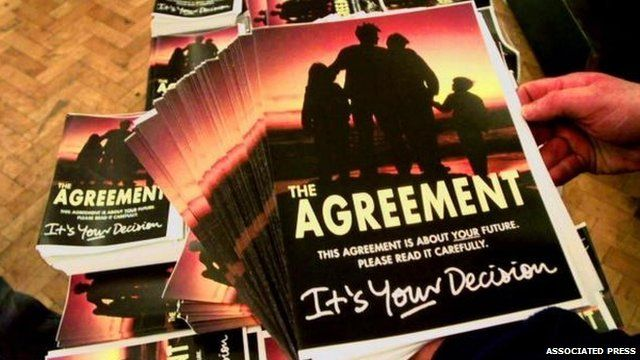 The Good Friday Agreement document cover