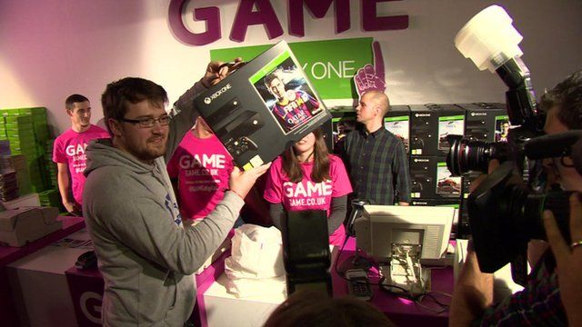 UK gamer gets his hands on an Xbox One