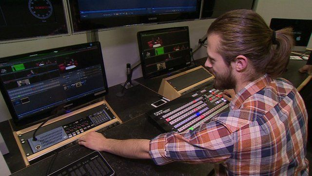 Behind the scenes at Estuary TV