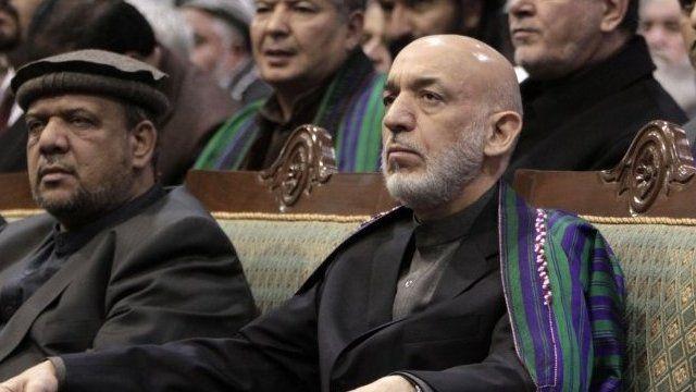 Afghan President Hamid Karzai attends final day of Loya Jirga in Kabul