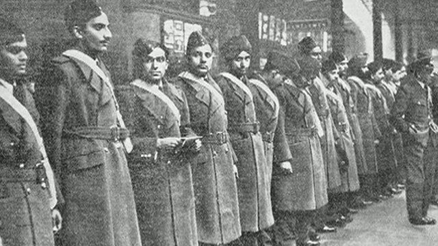 Asian soldiers