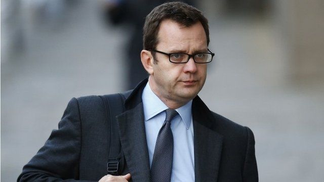 Former News of the World editor Andy Coulson arrives at the Old Bailey in central London November 21, 2013