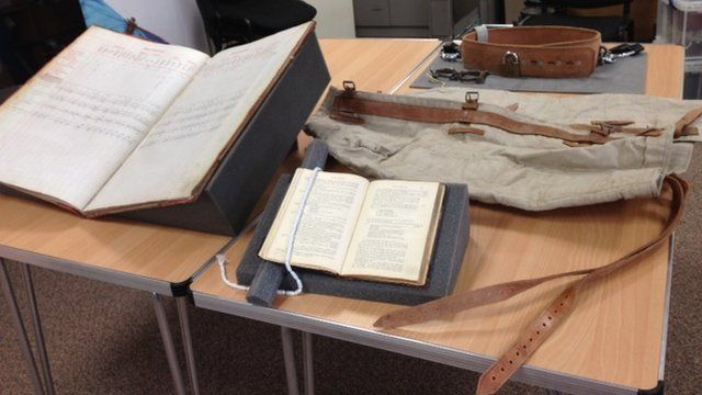 Historic artefacts in Peterhead prison