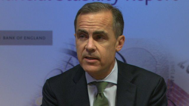Mark Carney gives news briefing