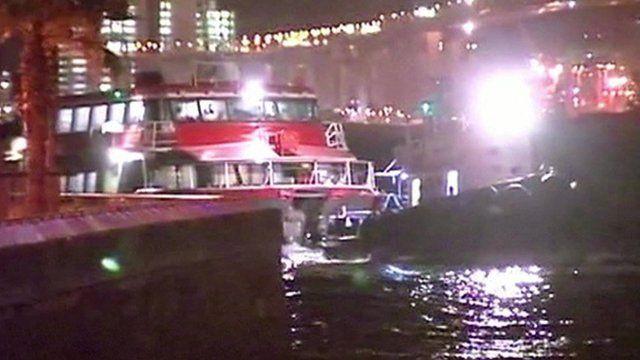 Turbojet ferry