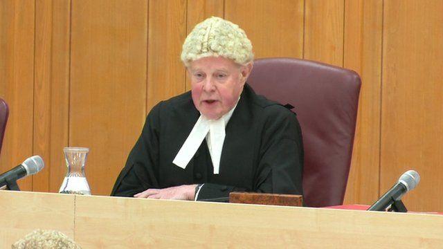 Lord Chief Justice Sir John Thomas