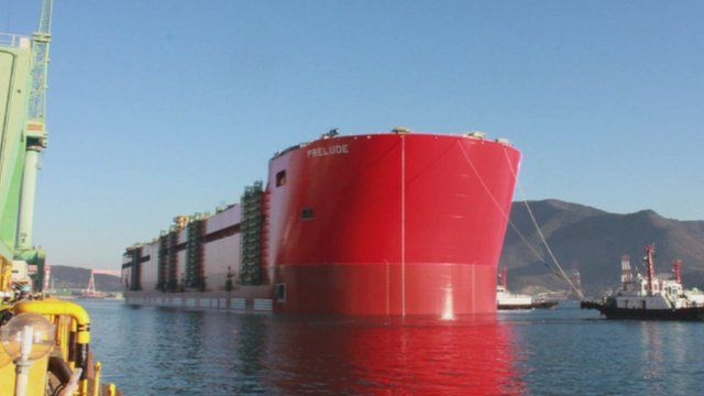 Shell Prelude floating facility