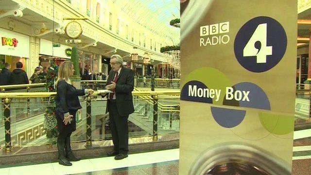 Paul Lewis being interviewed