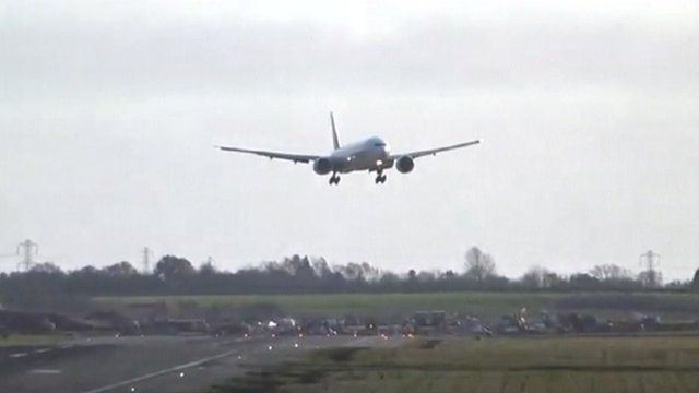 Birmingham Airport area