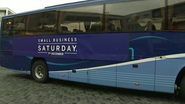 small business Saturday bus