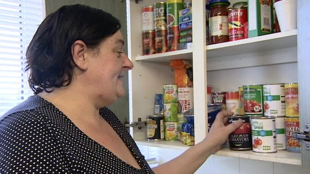 Susan Salamino, from Coventry, said she would have had to steal to feed her family if foodbanks had not been there to support her