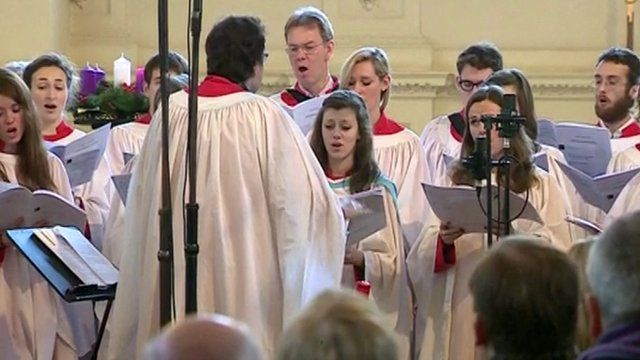 Choir at St Martin-in-the-Fields