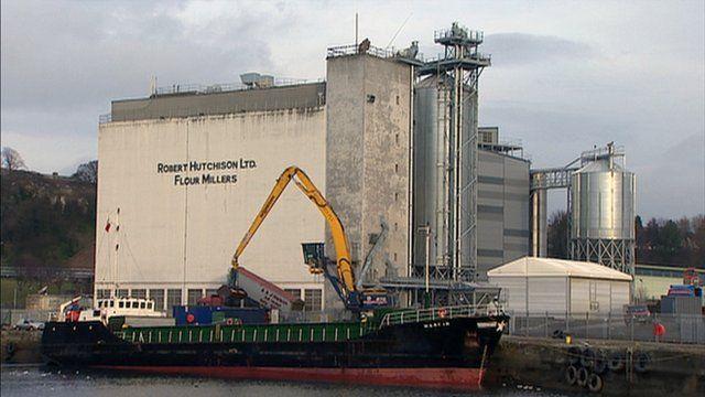 Flour mill in Kirkcaldy