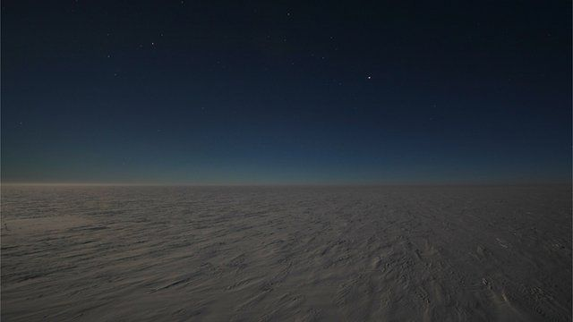 Antarctic high plateau