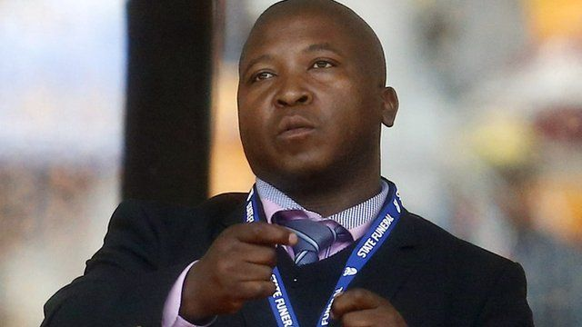 A man who was signing at the Mandela memorial service