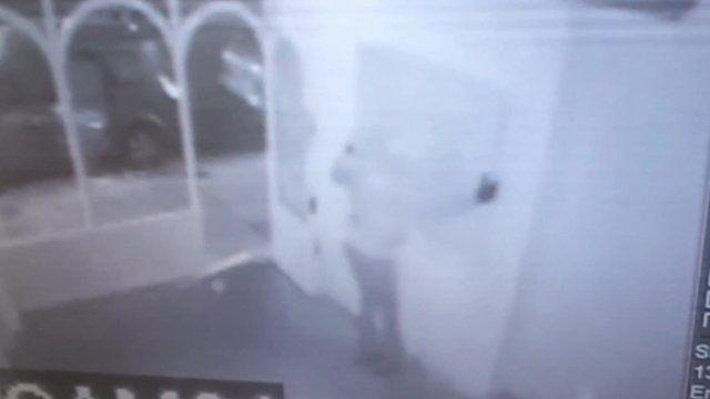 Damien Hirst artworks being stolen